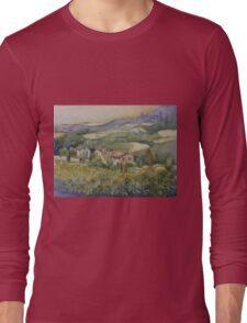 Sunflowers - Tuscany Long Sleeve T-Shirt