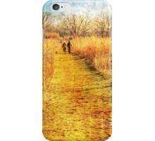 Fall Stroll iPhone Case/Skin