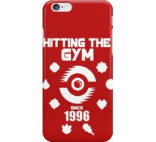 Hitting The Pokemon Gym iPhone Case/Skin
