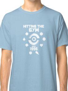 Hitting The Pokemon Gym Classic T-Shirt