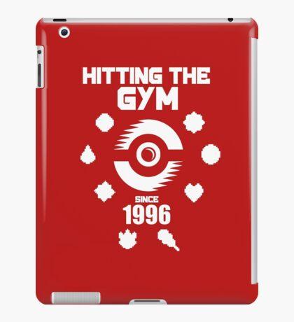 Hitting The Pokemon Gym iPad Case/Skin