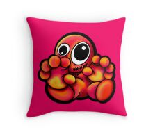 Gingerbread Man Design Throw Pillow