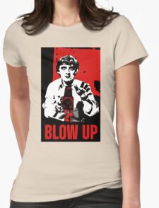Blow Up - Movie Poster Womens Fitted T-Shirt