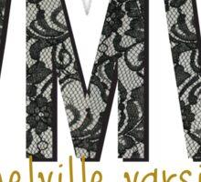 WMVC Black Lace Sticker