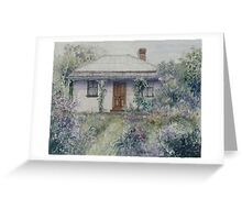 Rose Cottage I - Central West NSW Greeting Card