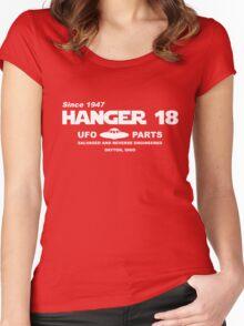 Hangar 18 UFO Parts Women's Fitted Scoop T-Shirt