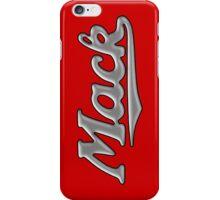 Mack retro chrome iPhone Case/Skin