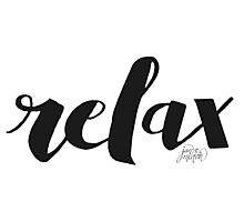 Relax by Jan Marvin Photographic Print