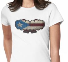 Puerto Rico! Womens Fitted T-Shirt