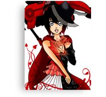 Red Ruby Canvas Print