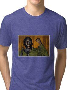 Thomas Sankara-4 Tri-blend T-Shirt