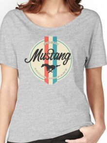 Mustang retro Women's Relaxed Fit T-Shirt