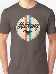 Mustang retro Unisex T-Shirt