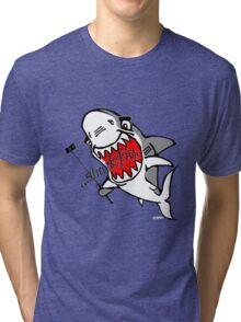 Sharkfie Tri-blend T-Shirt