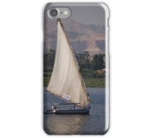 Sail boat on the Nile iPhone Case/Skin