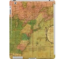 American Revolutionary War Era Maps 1750-1786 351 Bowles's new pocket map of the United States of America the British possessions of Canada Nova Scotia and iPad Case/Skin