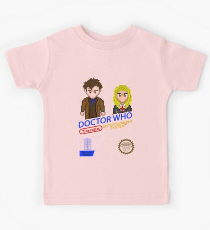 NINTENDO: NES DOCTOR WHO  Kids Tee