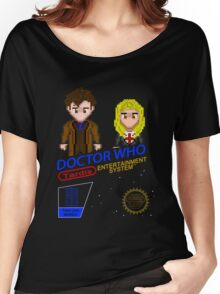 NINTENDO: NES DOCTOR WHO  Women's Relaxed Fit T-Shirt