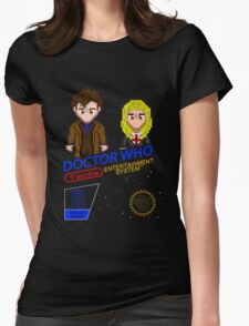 NINTENDO: NES DOCTOR WHO  Womens Fitted T-Shirt