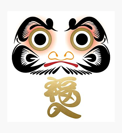 Luck & Good Fortune Daruma Photographic Print