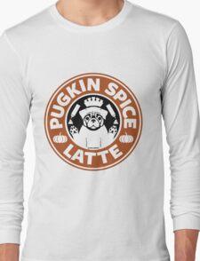 Pugkin Spice Latte Long Sleeve T-Shirt