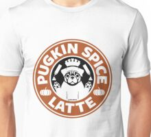 Pugkin Spice Latte Unisex T-Shirt