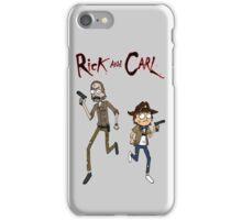 Rick and Carl iPhone Case/Skin
