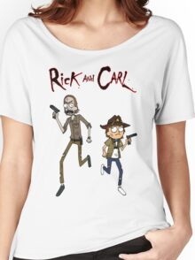 Rick and Carl Women's Relaxed Fit T-Shirt