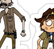 Rick and Carl Sticker
