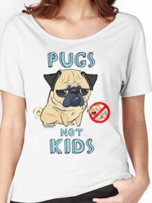 Pugs Not Kids Women's Relaxed Fit T-Shirt