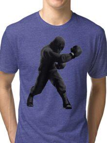 B&W Hoodie Mac Tri-blend T-Shirt