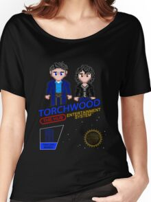 NINTENDO: NES Torchwood  Women's Relaxed Fit T-Shirt