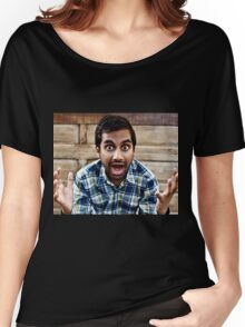 aziz ansari  Women's Relaxed Fit T-Shirt