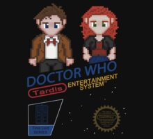 NINTENDO: NES DOCTOR WHO One Piece - Short Sleeve