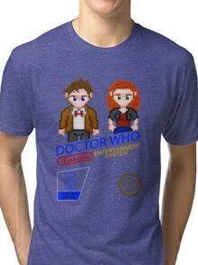 NINTENDO: NES DOCTOR WHO Tri-blend T-Shirt