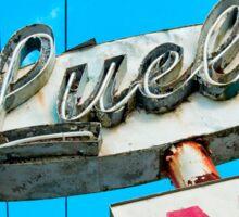 Luell Motel Sticker