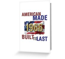 1966 American Made Greeting Card