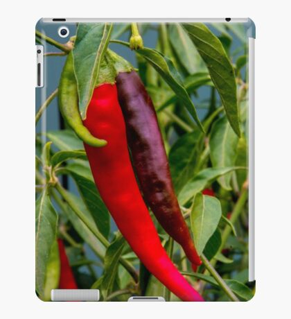 Red hot chilli peppers iPad Case/Skin