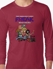 Fabulous Freak Brothers Long Sleeve T-Shirt