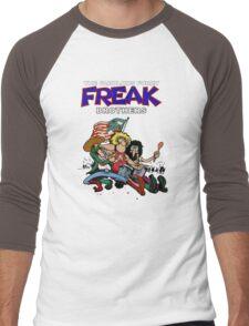Fabulous Freak Brothers Men's Baseball ¾ T-Shirt