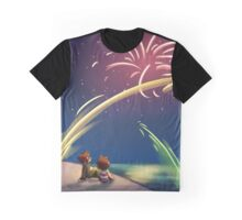 """Fourth of July"" Graphic T-Shirt"