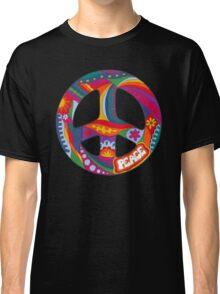 Psychedelic Peace Symbol Classic T-Shirt