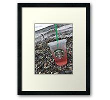 Starbucks Rocks Framed Print