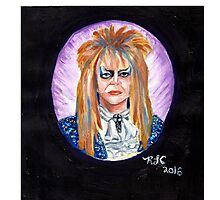 The Goblin King Photographic Print