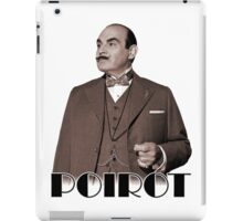 Monsieur Hercule Poirot iPad Case/Skin