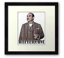 Poirot - True Detective Framed Print