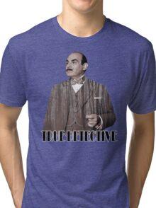 Poirot - True Detective Tri-blend T-Shirt