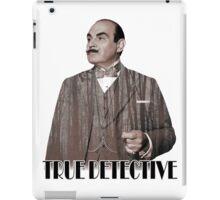 Poirot - True Detective iPad Case/Skin