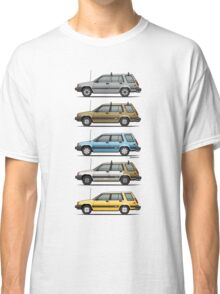 Stack Of Mark's Toyota Tercel Al25 Wagons Classic T-Shirt