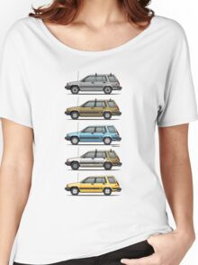 Stack Of Mark's Toyota Tercel Al25 Wagons Women's Relaxed Fit T-Shirt